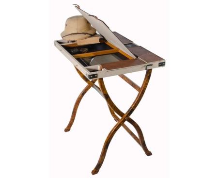safari computer desk open