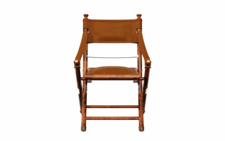 safari campaign chair front