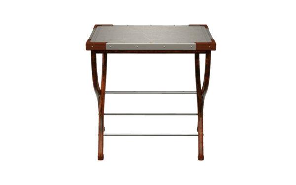 safari folding table - front