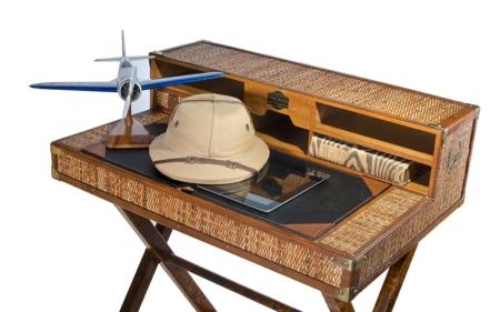 Safari Desk Closeup