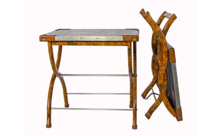 safari folding table folded