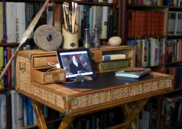 safari writing desk