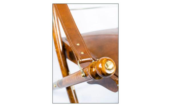 safari campaign chair detail