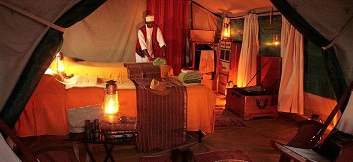 safari beds