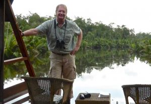 Donald Young in Borneo