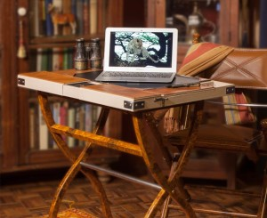 Safari Computer Desk - Khaki