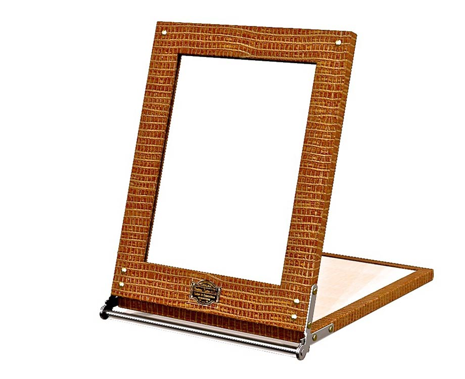 Safari folding mirror