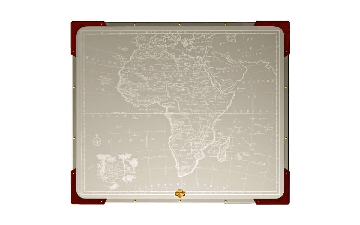 Safari Folding Table With Africa Map Newland Tarlton Amp Co
