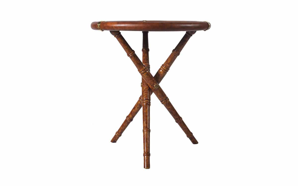 Bon Safari Tripod Table   Profile