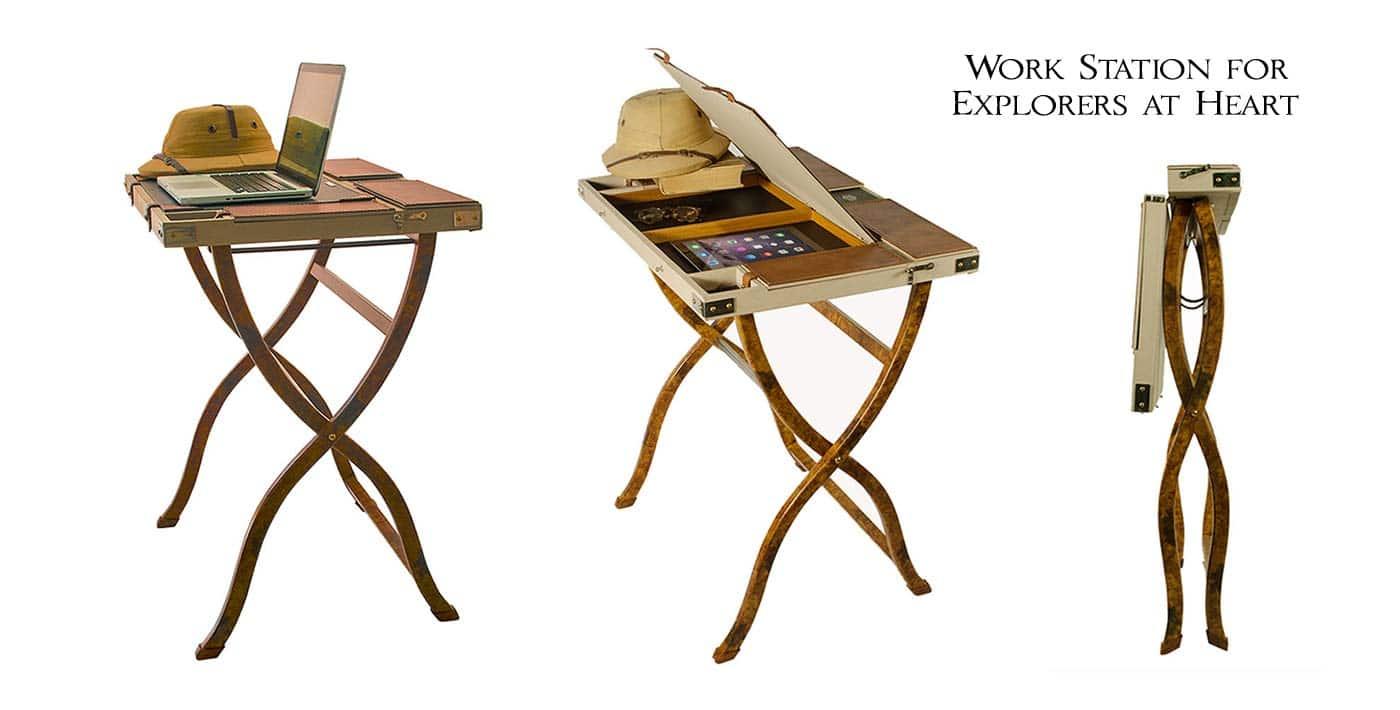 safari computer desk